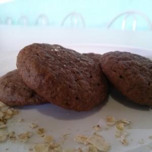 Cookie de Chocolate com Aveia
