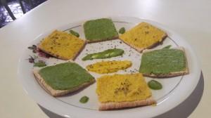 Patê de Pão e Talos de Salsinha